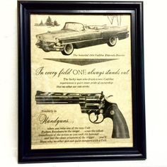 Hey, I found this really awesome Etsy listing at https://www.etsy.com/listing/209859735/colt-cadillac-advertising-framed-art