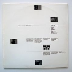 The Durutti Column - The Guitar And Other Machines (Inner Sleeve)