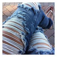 Pinterest / Search results for ripped jeans ❤ liked on Polyvore