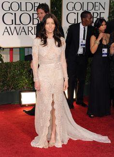 Jessica Biel Photos: 69th Annual Golden Globe Awards - Arrivals