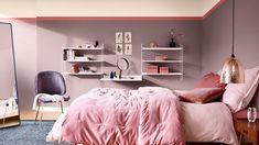 Heart Wood The Comforting Home Flexa Slaapkamerinspiratie Bedroom Wall Paint Colors, Bedroom Wall Paint, Modern Spaces, Wall Paint Colors, Livingroom Layout, Room Layout, Color Combinations Paint, Trending Paint Colors, Home Decor