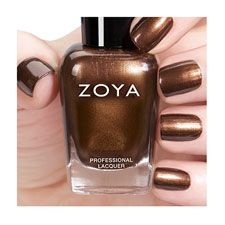Zoya Nail Polish in Cinnamon