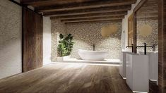 diakosmisi spitiou  - mpanio  Επανασχεδιασμός παλιάς Αγροικίας   Σχεδιασμός και διακόσμηση κατοικίας Bathtub, Standing Bath, Bath Tub, Bathtubs, Tub