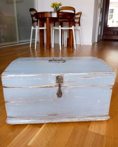 renowacja i malowanie mebli Shabby, Hope Chest, Storage Chest, Cabinet, Diy, Furnitures, Scrap, Anna, Home Decor