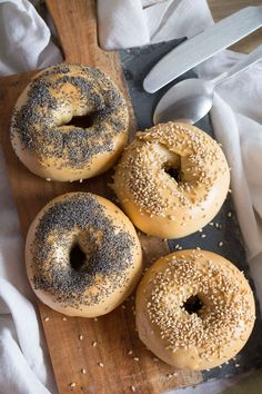 how to make homemade bagels Healthy Eating Tips, Healthy Recipes, Lunch Recipes, Baguette, Brunch, Sandwiches, Homemade Bagels, Bagel Recipe, Pizza