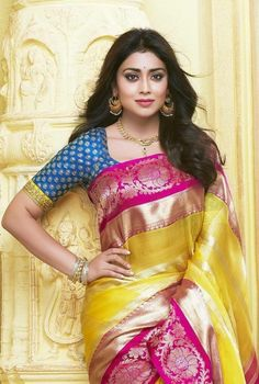 Kanchipuram sarees are a pleasure to wear and flaunt. But why are kanchipuram sarees such a fashion rage? Beautiful Girl Indian, Beautiful Saree, Beautiful Indian Actress, Beautiful Women, Indian Beauty Saree, Indian Sarees, Saris, Festivals, Indische Sarees