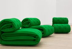 Kibisi // The Roulade. Sort of futon. Home Decor Furniture, Kids Furniture, Modern Furniture, Furniture Design, Danish Furniture, Upholstered Furniture, Chair Design, Fold Out Chair, Sweet Home