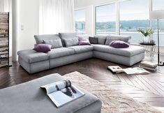MONDO Polsterecke BLADE Stoffbezug Platin #Sofa #wohnen #Wohnzimmer  #Wohnzimmerideen