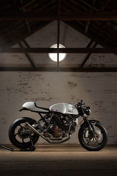 Custom Ducati Motorcycle