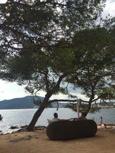El lujo de disfrutar del sol, la naturaleza y el mar en #Ibiza #octubre Nature, sun and sea, a luxury feeling #Eivissa #Ibizavibes #october Ibiza, Outdoor Furniture, Outdoor Decor, Island, Instagram, Sun, October, Naturaleza, Islands