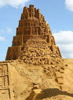 amazing sand castle art