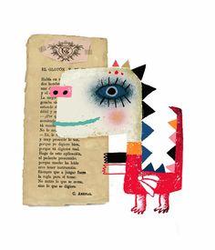 Ilustración infantil. Tesa González. Leo Lionni, Book Lovers, Beast, Creatures, My Favorite Things, Artist, Movie Posters, Kids, Monsters