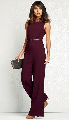 9 Stylish & Casual Office Jumpsuits for Womens in Trend Friday and it's a semi-formal day at our office, then try out new combination outfit like the jumpsuits. Here are the best Office Jumpsuits for young ladies. Work Fashion, Fashion Outfits, Womens Fashion, Office Wear Dresses, Suit Jackets For Women, Long Romper, Mode Hijab, Casual Winter Outfits, Fall Outfits