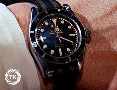 James Bond's watch--Sean Connery Rolex 6538