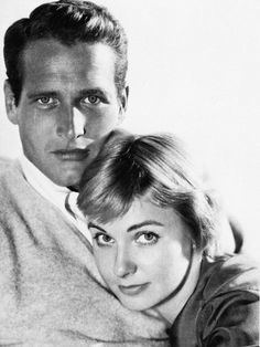 Paul Newman and Joanne Woodward photographed by John Engstead, 1961