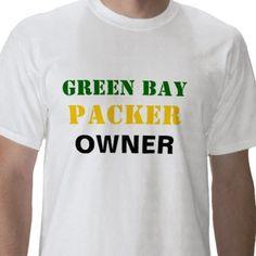 Green Bay Packer Owner T-Shirts - T-Shirt Design   Printing 20b334f18