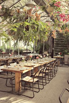 Terrain at Styers is aa garden that foodie dreams are made of and quite possibly the coolest spot on the planet for a wedding extravaganza. And as if the venue weren't enough to send us reeling into a swoon-fest, this