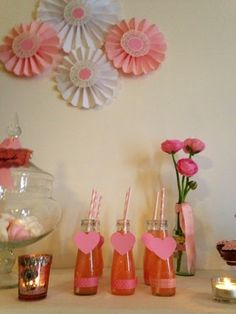 Profumo di lavanda: { Baby Shower } tutto in rosa