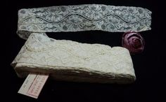 Online+veilinghuis+Catawiki:+An+antique+ivory+color+lace+roll,+Spain,+circa+1949.++11+meters+x+5.5+cms+-+Unused