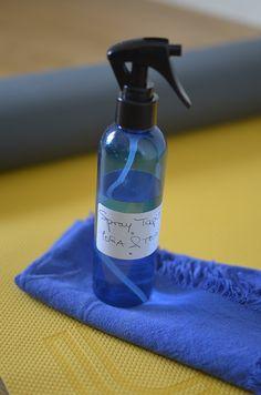 Ma recette préférée pour le spray tapis de yoga maison