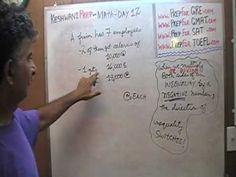 Math Problems Day 12 - Average - Prep for GRE, GMAT, SAT - Online Tutor ...
