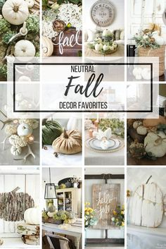 Neutral Fall Decor Favorites A gathered collection of neutral fall decor and DIY favorites to fit any style and budget to help you create a beautiful farmhouse space this fall. Neutral Fall Decor Favorites - Beauty For Ashes Thanksgiving Decorations, Seasonal Decor, Holiday Decor, Winter Decorations, Thanksgiving Ideas, Holiday Ideas, Fall Home Decor, Autumn Home, Autumn Inspiration