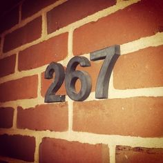 Day 89: Brick and numbers // © Erin M. Harris