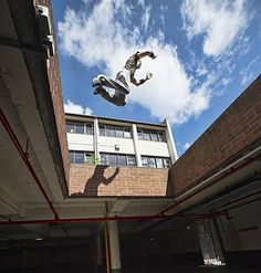 """It's official - Britain has become the first country in the world to recognise Parkour as a sport. 🇬🇧 This blood-pumping pasttime involves free-running, jumping, and climbing in mostly urban spaces; it started in France in the 1980s, and was then known as 'Art du Deplacement.' """"This is brilliant recognition for a discipline that started off as child's play with my friends almost 30 years ago,"""" said Sebastien Foucan, the president of Parkour UK."""