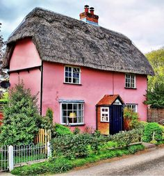 England Travel Inspiration - Belchamp Otten, Essex, England.
