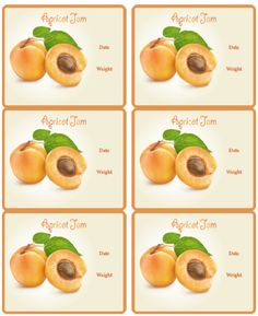 These are really cute canning jar labels designed by Ira Pavlovich. Use on your cans, jars and other containers you are using for your homemade jams (fruit preservatives): Cherry, Blueberry, Strawb… Canning Jar Labels, Canning Recipes, Jam Label, Printable Recipe Cards, Chutney, Food Photography, Organizing Labels, Food And Drink, Homemade
