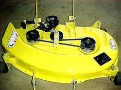 john deere oem 38 mower deck shell fits 108 111 112l. Black Bedroom Furniture Sets. Home Design Ideas