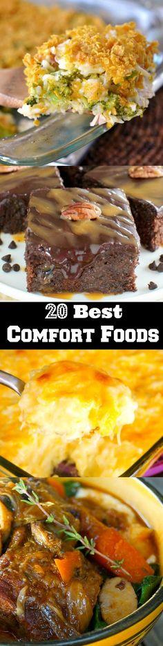20 Best Comfort Foods