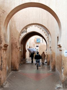 Marakech, Morocco  Image by Ben Freeman: http://www.flickr.com/photos/75003318@N00/3227964185/