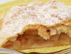 Apfel- oder Birnenstrudel - Rezept