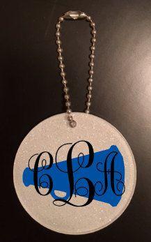 Cheerleader Bag Tag, Cheerleader Gifts, Cheerleading Gifts, Cheer Team Gifts, Cheer Gift Ideas by PiperGraceGifts on Etsy