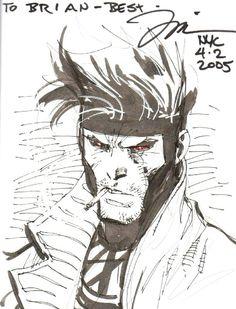 Gambit by Jim Lee