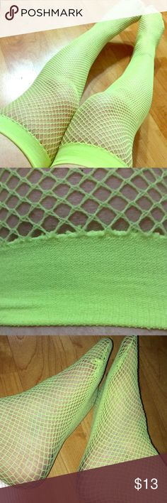 I just added this listing on Poshmark: Neon yellow fishnet thigh highs. #shopmycloset #poshmark #fashion #shopping #style #forsale #Vintage #Accessories