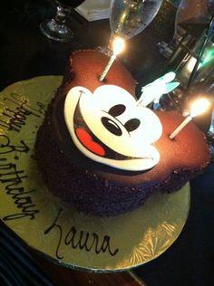 my birthday cake! :) thanks ma!