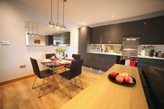 Kitchen, Alban House Serviced Apartments, St Albans