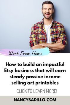Learn How To Build A Successful Art Printable Etsy Shop and Start Earning Passive Income With Little Up-Front Cost, No Shipping Fees, And Low Overhead Expenses. Etsy printables, Etsy printables business, etsy printable art, etsy printable ideas, art printables, sell prints, sell printables, sell printables online, sell prints on Etsy, make money with digital products, make money with digital art, how to make money with digital art, make money selling digital products, etsy course, #ads