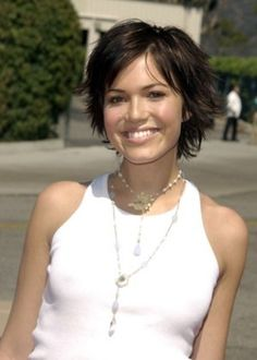 Short Hair - Mandy Moore style-things
