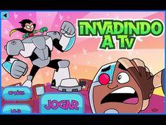 Jovens Titãs Em Ação - Invadindo a TV