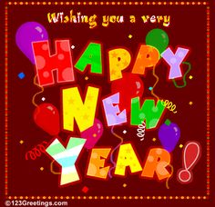 Animated Happy New Year GIF   Animations A2Z - animated gifs for a happy new year