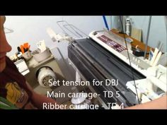 A full tutorial on the technique of Double bed Jacquard with a birds eye backing. This skills learnt here can be transferred to various different models of t...