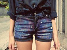 give me galaxy pants! #fashion
