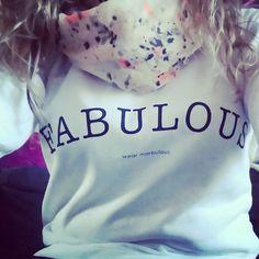 Be fabulous, wear Marbulous! Vanaf 0-3 maanden tot en maat xxl!  http://www.marbulous.nl/a-40372454/mommies/fabulous-sweater/