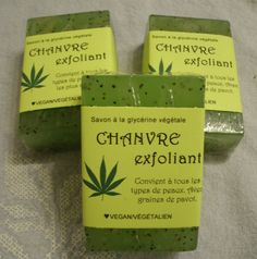 Savon CHANVRE EXFOLIANT