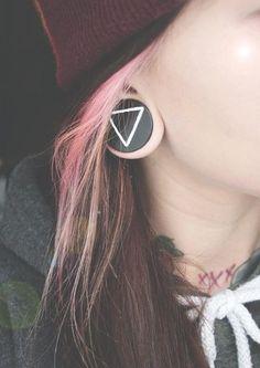 beautiful ear plug
