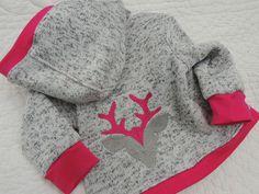 Baby Jacke, Trachtenjacke aus Strickstoff erhältlich von den Grössen 50/65 bis 74/80 von: made-by-riann.de