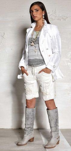 Elisa Cavaletti-Trench*XL / 42*color:bianco* kurz*